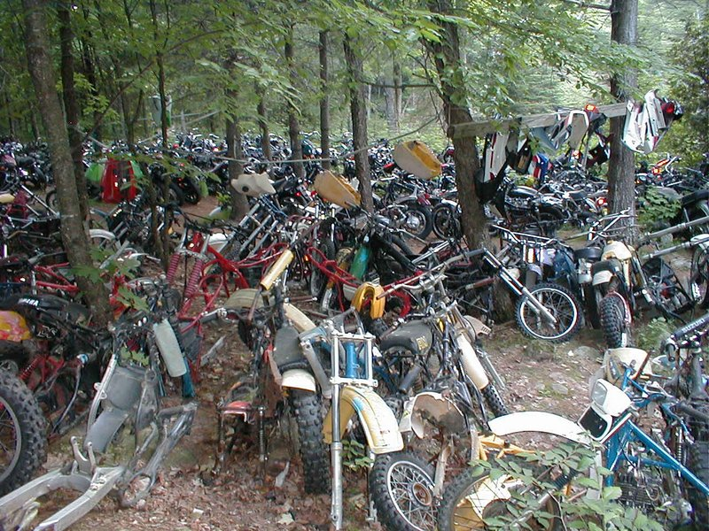 Woody S Cycles Salvage Yard Woody S Cycles